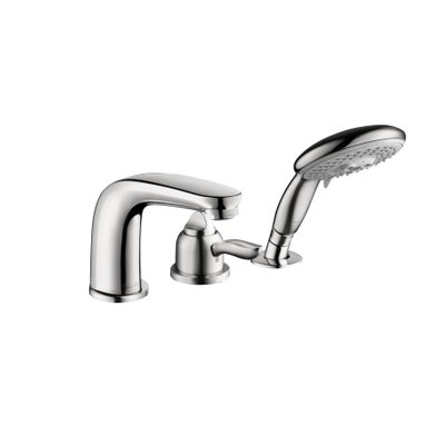 Hansgrohe Solaris E Single Handle Dual Function Roman Tub Faucet and Hand Shower
