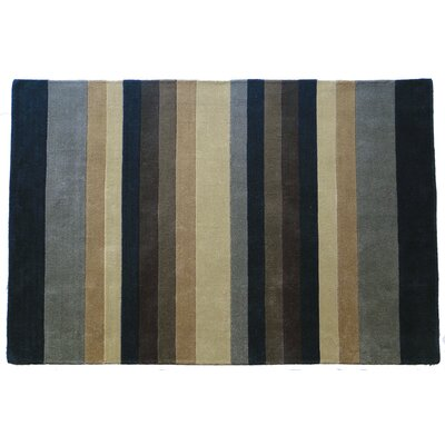 Tailored Natural Multi Stripe Rug