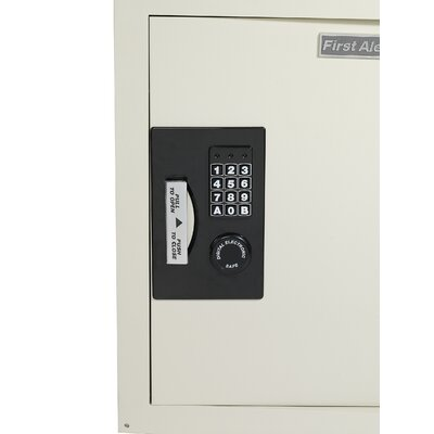 First Alert Anti-Theft Digital Electronic Lock Wall Safe [0.43 CuFt]