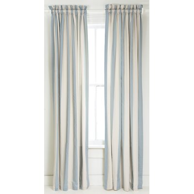 Pine Cone Hill Madeline Stripe Window Panel in Blue