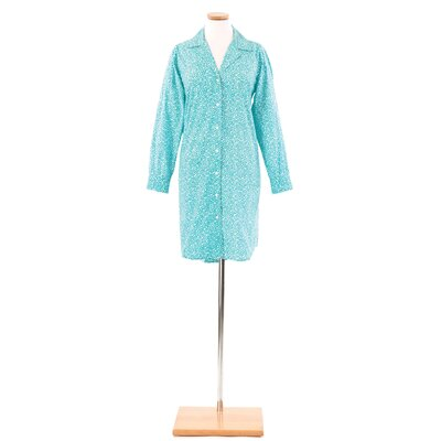 Pine Cone Hill Ink Dots Night Shirt in Aqua