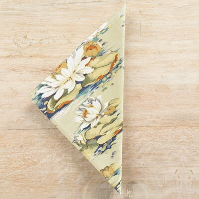 Pine Cone Hill Water Lily Napkin (Set of 4)
