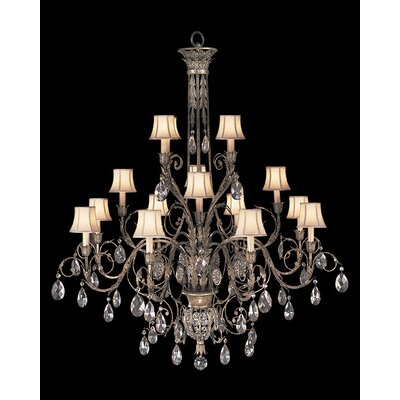 Fine Art Lamps A Midsummer Nights Dream 16 Light Chandelier