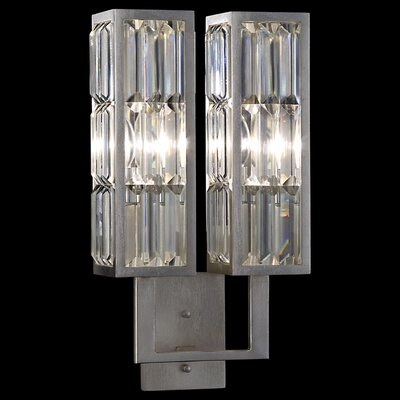 Fine Art Lamps Crystal Enchantment 2 Light Wall Sconce