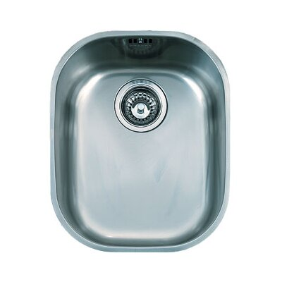 "Franke 17.19"" x 14.19"" Compact Single Bowl Kitchen Sink"