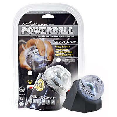 DFX Platinum Power Ball Lighted Gyro Exerciser