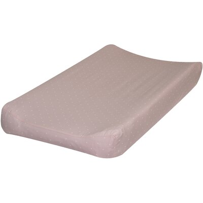 Go Mama Go Pink with Cream Dots Changing Pad Cover