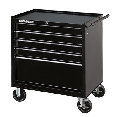 Stack-On 5 Drawer Roller Cabinet with Ball Bearing Slide