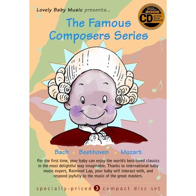 Lovely Baby Music Famous Composers CD (Set of 3)