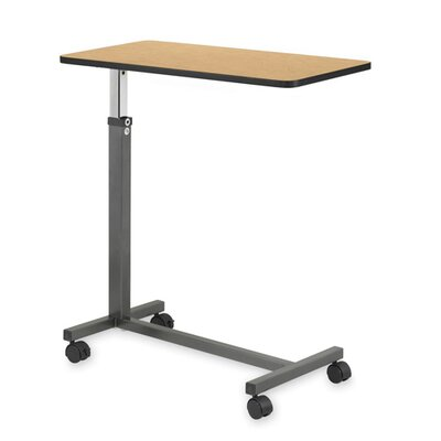 Hausmann Industries Overbed Table, Walnut