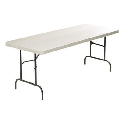 "Lorell Ultra Light Banquet Table, Rectangle, 96"" x 30"" x 29"", Steel"