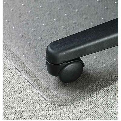 Lorell Economy Weight Beveled Edge Chair Mat