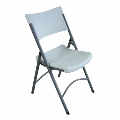 Lorell Folding Chair Platinum (Set of 4)