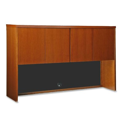 "Lorell 88000 Series 66"" Stack-on Storage Hutch, Cherry"
