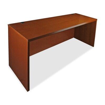 "Lorell 88000 Series, 60"" Rectangular Desk, Cherry"