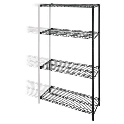 4-Tier Wire Rack Add-On Unit, 48