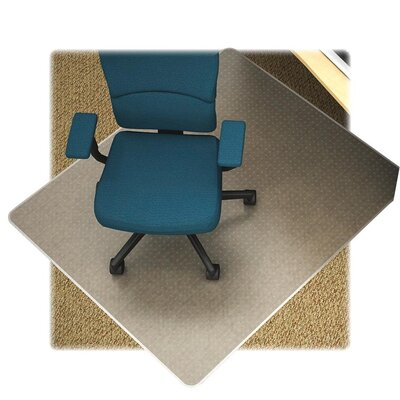 Lorell Low Pile Carpet Beveled Edge Chair Mat