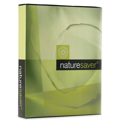 Nature Saver Recycled Multipurpose Paper, Letter, 92 Brightness, 20 lb, 5000 Sheets/Carton, White