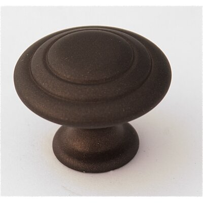 "Alno Inc Rustic 1.12"" Knob with Zinc Alloy Construction"