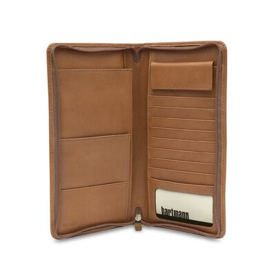 Hartmann J Hartmann Reserve Zip Travel Organizer in Natural