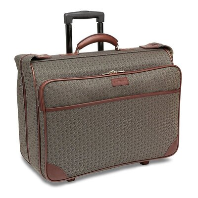 "Hartmann Wings 22"" Carry-On Mobile Traveler Garment Bag in Cognac"