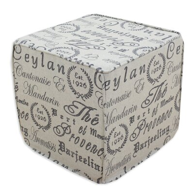 Chooty & Co Tea House Cube Ottoman