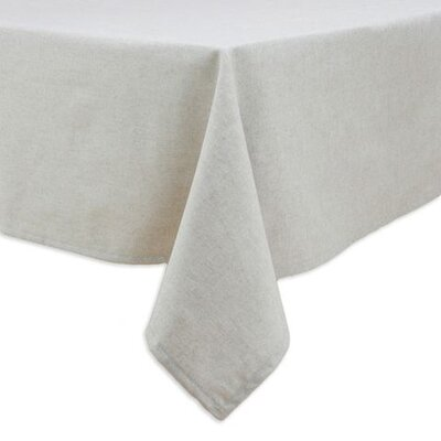 Chooty & Co Wisdom Burlap Hemmed Tablecloth