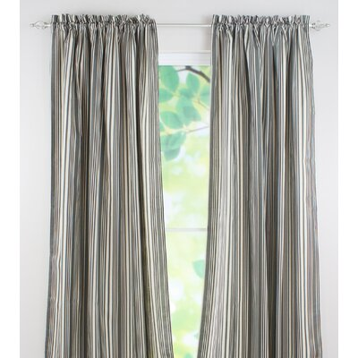 Chooty & Co Spirit Graphite Cotton Rod Pocket Curtain Panel