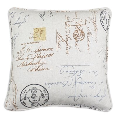 Postale Corded Cotton Pillow