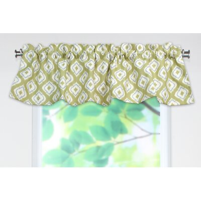 Chooty & Co Macie Rod Pocket Tailored Curtain Valance