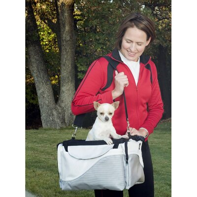Solvit Tagalong Sport Pet Bicycle Basket in Silver