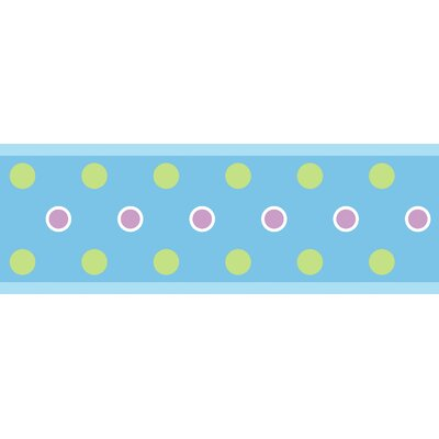 Studio Designs Dot Wall Border in Blue