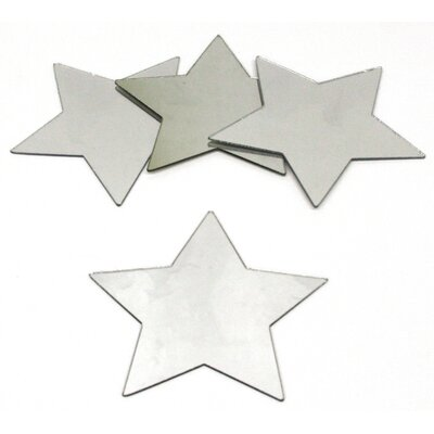 Room Mates Wall Mirrors Star Peel and Stick Small Decal