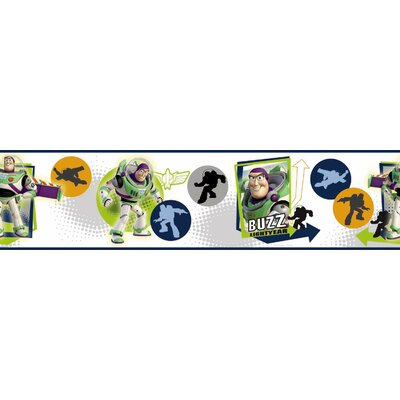 Room Mates Licensed Designs Buzz Lightyear Wall Border