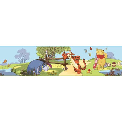 Room Mates Licensed Designs Pooh and Friends Wall Border