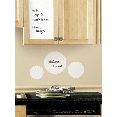 Room Mates Roommates Deco Dry Erase Sheet Peel and Stick Wall Decal
