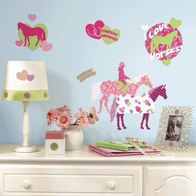 Room Mates Horse Crazy Wall Decal