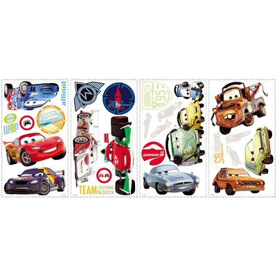 Room Mates Cars 2 Wall Decal