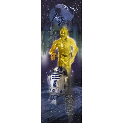 Room Mates Star Wars Classic R2D2 Panel