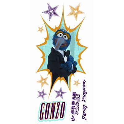 Room Mates Muppets - Gonzo Peel and Stick Giant Wall Decal
