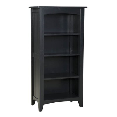 Alaterre Shaker Cottage Tall Bookcase in Black