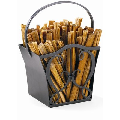 Minuteman International Cypher Wrought Iron Fatwood Caddy