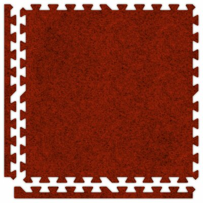 Alessco Inc. SoftCarpets Set in Red