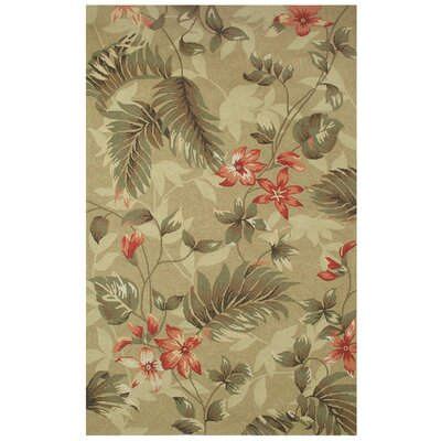 Classic Home Outdoor Leaves Rug