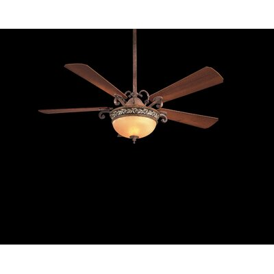 "Minka Aire 56"" Jessica McClintock Salon Grand 5 Blade Ceiling Fan"