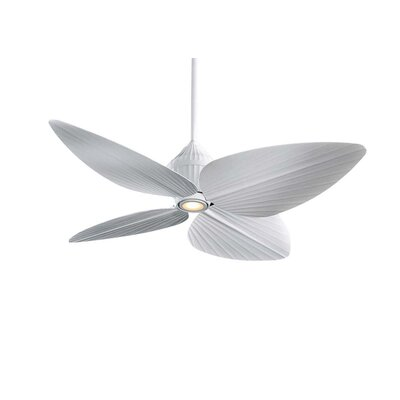 Minka Aire 52&quot; Gauguin Tropical 4 Blade Indoor / Outdoor Ceiling Fan