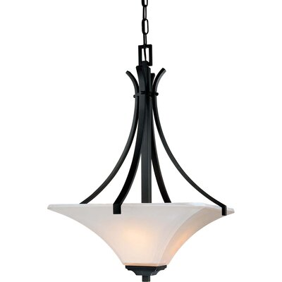 Agilis 3 Light Inverted Pendant