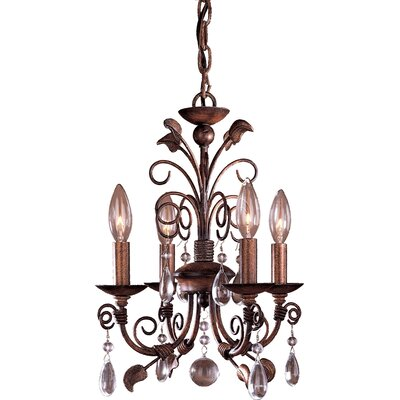 Minka Lavery 4 Light Mini Chandelier