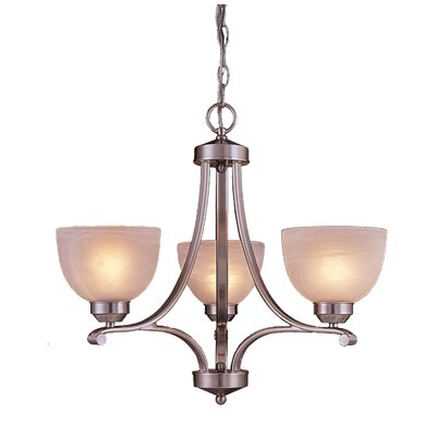 Paradox 3 Light Chandelier