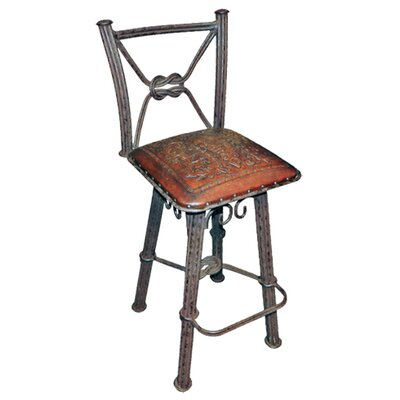 New World Trading Western Iron Colonial Barstool